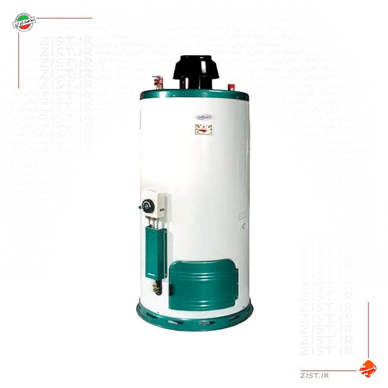 آبگرمکن گازی 50 لیتری سایواگستر ایران شرق مدل نرگس 998 مخزنی استوانه زمینی دیواری  