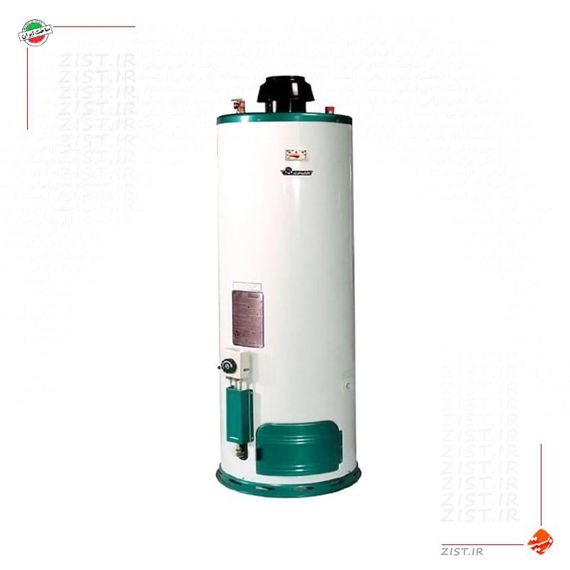 آبگرمکن گازی 120 لیتری سایواگستر ایران شرق مدل نسترن 910 استوانه زمینی ایستاده |