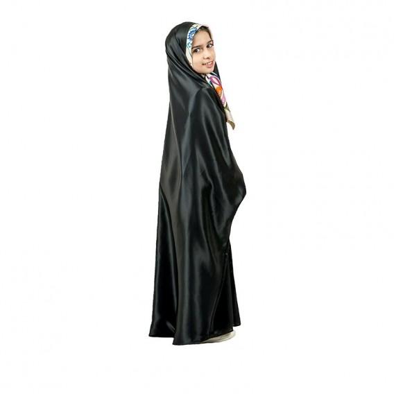 چادر دانشجویی دخترانه ساتن براق