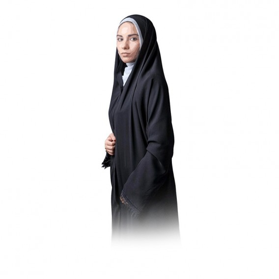 چادر ملی حریر اسود